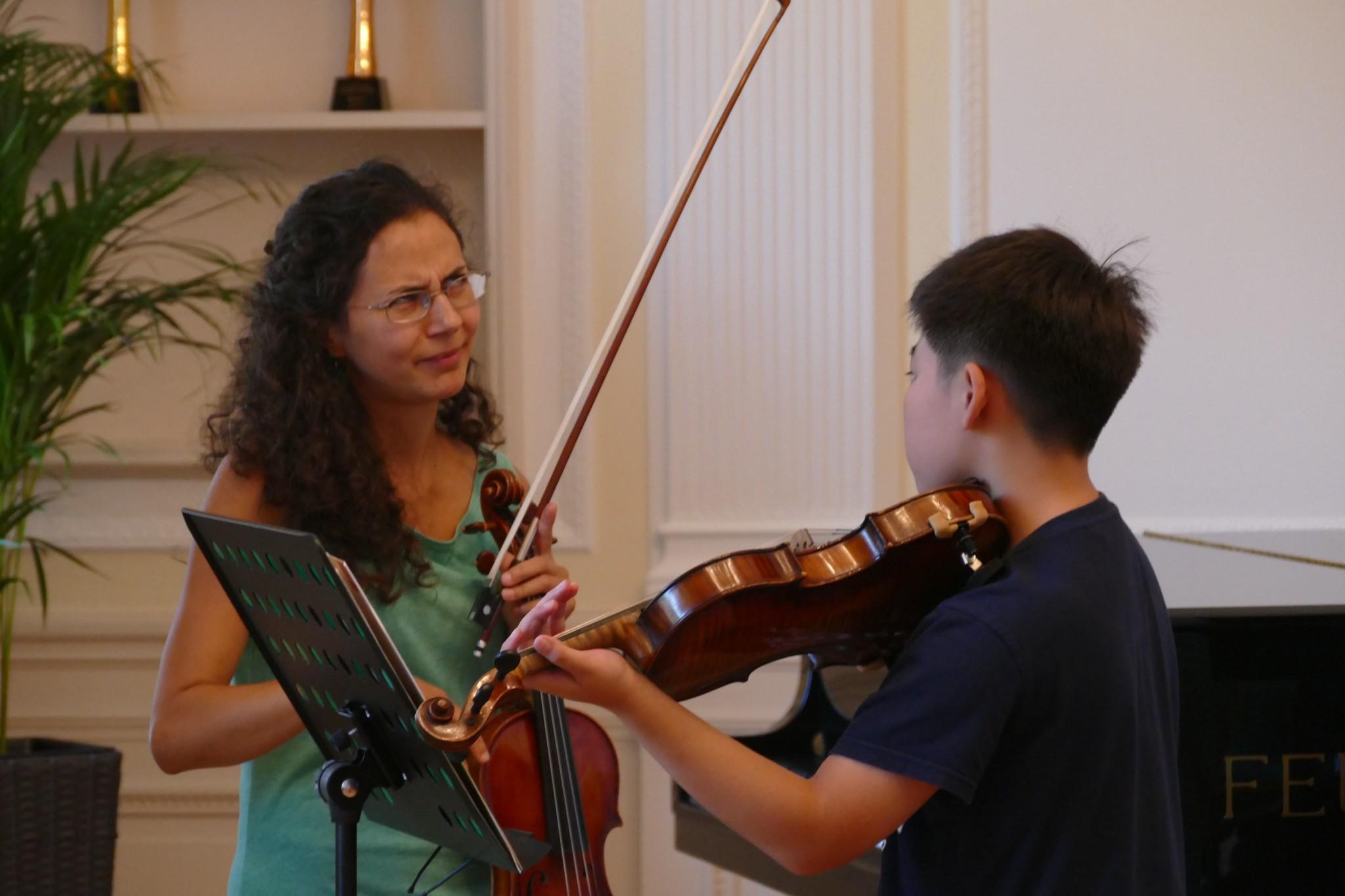 小提琴课程